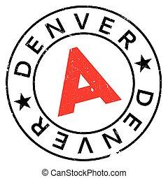 Denver stamp rubber grunge - Denver stamp. Grunge design...