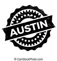 Austin stamp rubber grunge - Austin stamp. Grunge design...