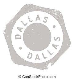 Dallas stamp rubber grunge - Dallas stamp. Grunge design...