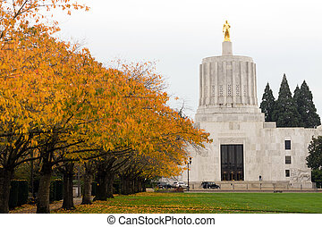 State Captial Salem Oregon Government Capital Building...