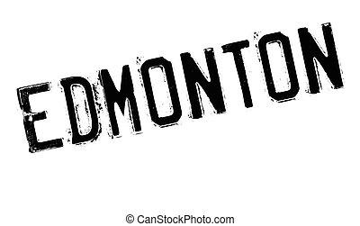 Edmonton stamp rubber grunge - Edmonton stamp. Grunge design...