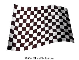 original checkered flag