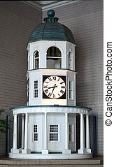 Simulated clock tower - Interior simulated clock tower in...