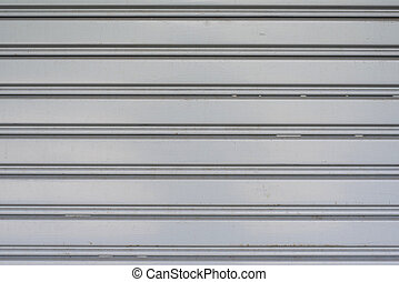 garage door metal background
