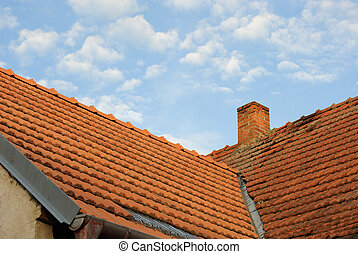 Tile Roof - Red clay tile roof