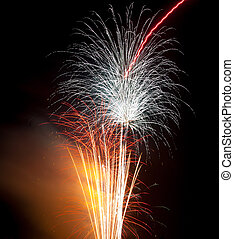 Colourful Firework display - Firework display at St Helen's...