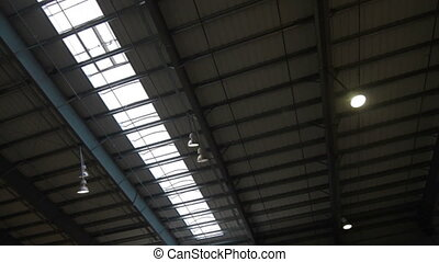 Roof Modern Production. natural lighting