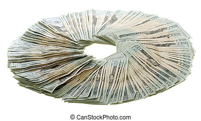 Circle of Money: Twenty Dollar Bills