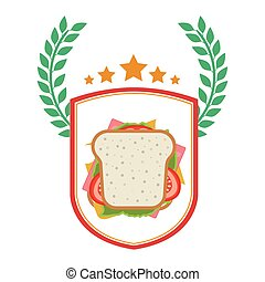 Isolated sandwich design