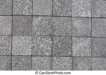 Seamless Tileable - Gray Square Pavement. Seamless Tileable...