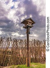 bird house - a bird house