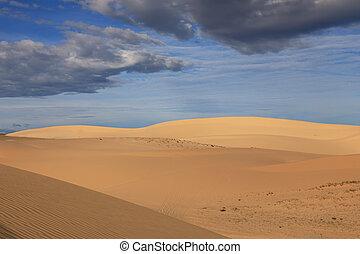 Landscape of sand dunes - Stunning landscape of sand dunes...
