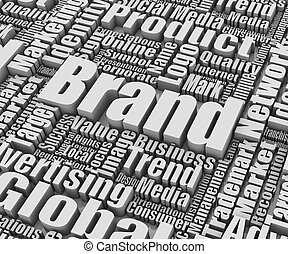 Brand related words Part of a series of business concepts