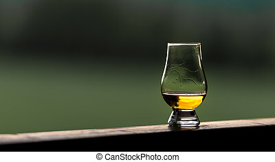 Whisky - a Glass of Scotch Whisky