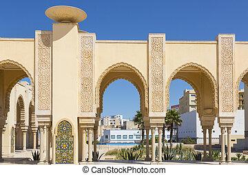 Casablanca, Morocco - Hassan II mosque in Casablanca,...