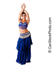 Arabic belly dancer - Beautiful Arabic belly dancer harem...