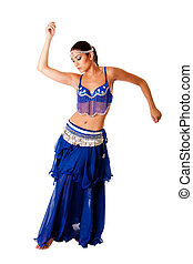 Arabic belly dancer