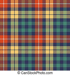 Colors check plaid seamless fabric texture