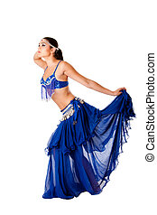 Harem belly dancer - Beautiful Arabic belly dancer harem...