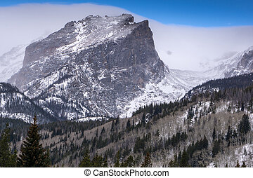 Hallett Peak - Rocky Mountain National Park