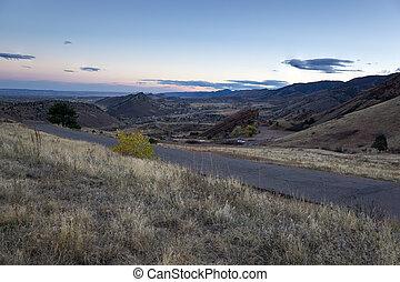 Red Rocks Overlook, Morrison Colorado - Geologic overlook,...