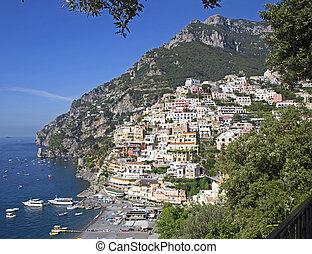 Village of Positano - Stunning Amalfi coast. Positano