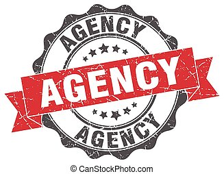 agency stamp. sign. seal