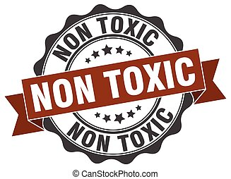 non toxic stamp. sign. seal