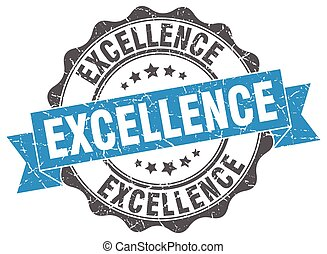 excellence stamp. sign. seal