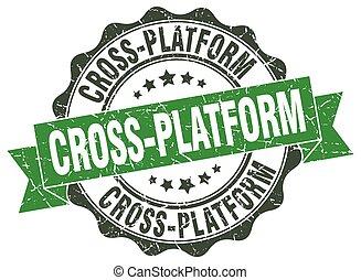 cross-platform stamp. sign. seal