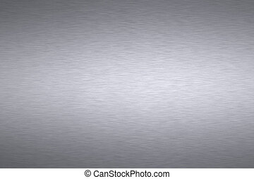 Brushed steel background. Blank canvas for copy