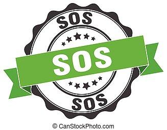 sos stamp. sign. seal