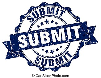 submit stamp. sign. seal