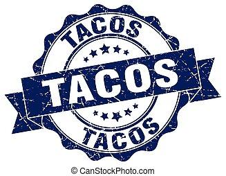tacos stamp. sign. seal