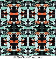 Tribal vector seamless pattern