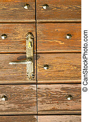capronno abstract curch closed wood lombardy - brebbia...