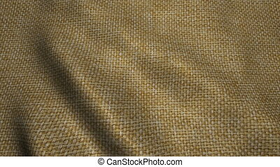 Highly detailed texture of burlap. Sackcloth background