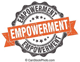 empowerment stamp. sign. seal
