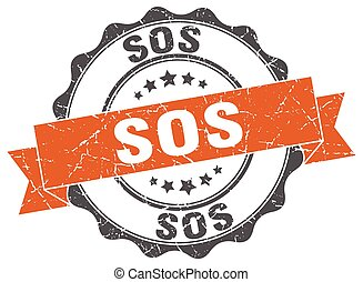 sos stamp. sign. seal