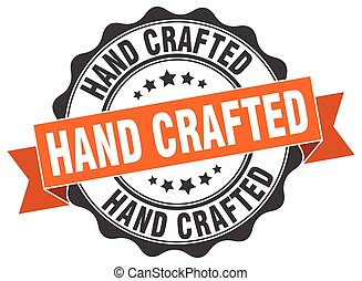 hand crafted stamp. sign. seal