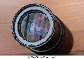 zoom lens of the reflex camera