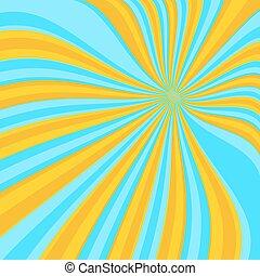 Colored blue lollypop background - Colored back Pop Art...