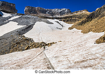 Roland Gap, Cirque de Gavarnie in the Pyrenees