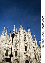 the Duomo Milan Italy - The Duomo Cathedral church Milan...
