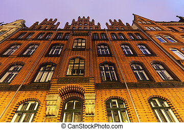 Old Town Hall of Hanover. Hanover, Lower Saxony, Germany.