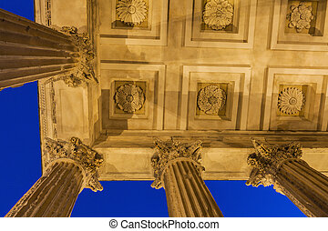 Maison Carree in Nimes - Maison Carree temple in Nimes....