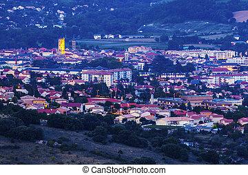 Millau - city panorama