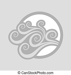 imaginative wind symbol - design of imaginative wind symbol