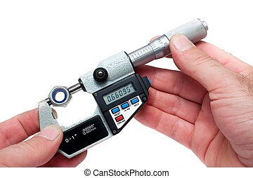 Measuring Equipment Digital Micrometer Measuring Bolt...