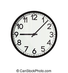 Vector clock face